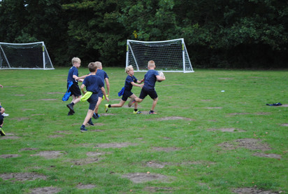 Year 6 Rugby Lesson