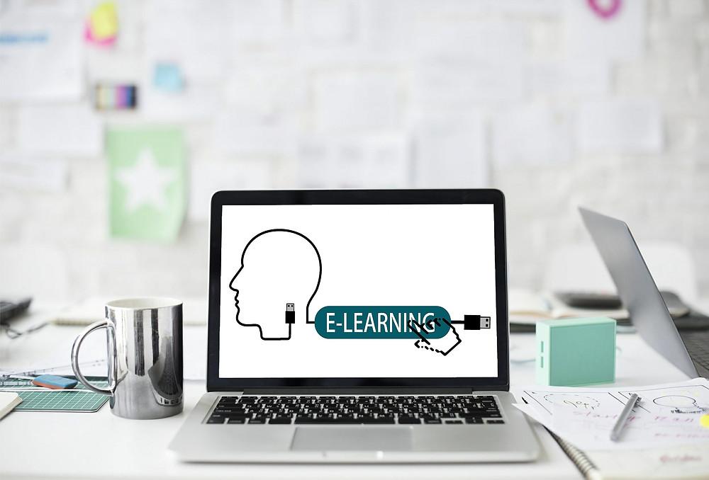 Aprendizaje en línea para alumnos