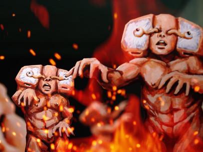 Violence Voyager: uma bizarra aventura infantil