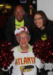 90-year-old Cheerleader