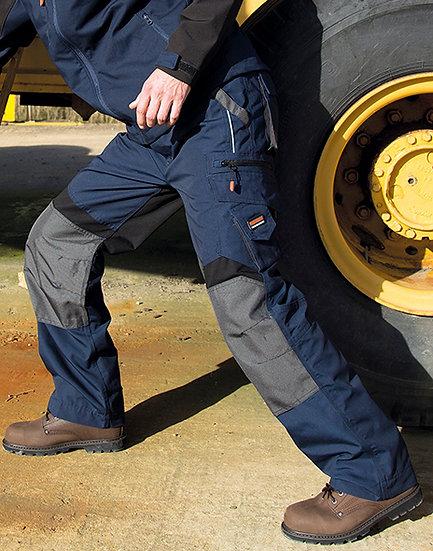 Pantalon de travail technique pour genouillères