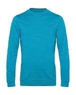 "Sweatshirt French Terry ""hawaiian blue"" pièce unique"