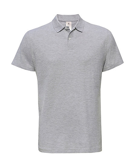 "Polo premium ""heather grey"" 100 pièces"