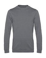 "Sweatshirt French Terry ""elephant grey"" pièce unique"
