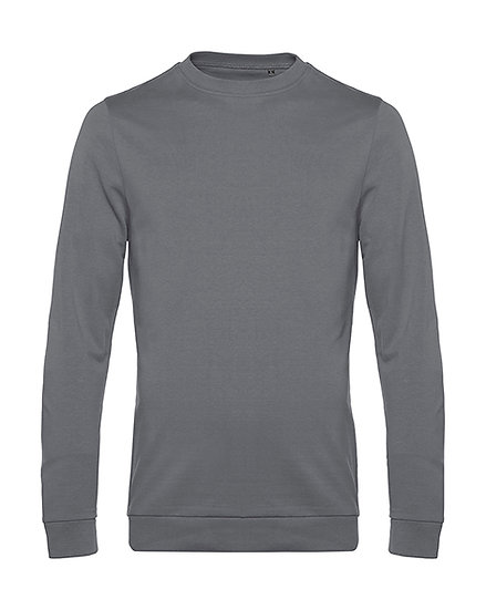 "Sweatshirt French Terry ""elephant grey"" 10 pièces"