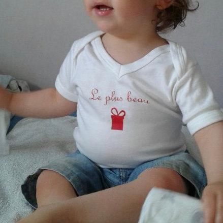 Body éthique personnalisé - cadeau bébé