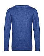 "Sweatshirt French Terry ""heather royal"" pièce unique"