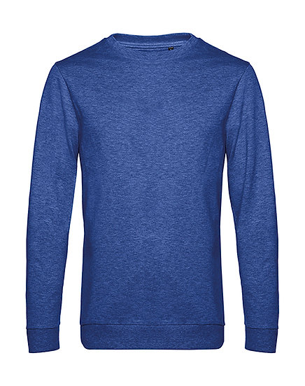 "Sweatshirt French Terry ""heather royal blue"" 50 pièces"