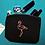 Thumbnail: Mini pochette éthique flamant tropical pailleté