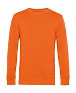 """Sweatshirt éthique French Terry """"pure orange"""" pièce unique"""