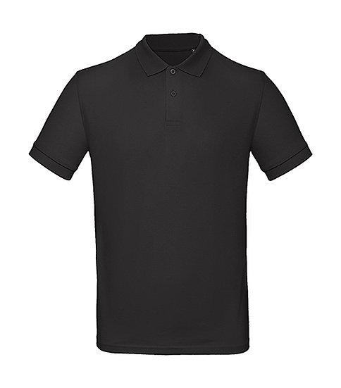 Polo éthique noir pièce unique