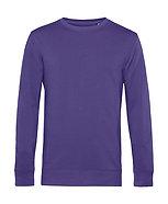 """Sweatshirt éthique French Terry """"radiant purple"""" pièce unique"""