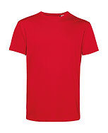 Tee-shirt éthique rouge pièce unique