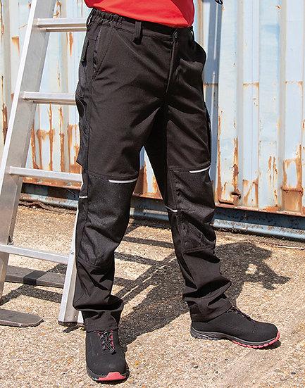 Pantalon de travail hiver softshell slim