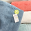 Thumbnail: Serviette de bain bouclette de coton biologique brodée prénom