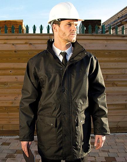 Manteau de travail Manager Platinum brodé