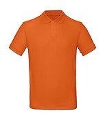 """Polo éthique """"urban orange"""" pièce unique"""