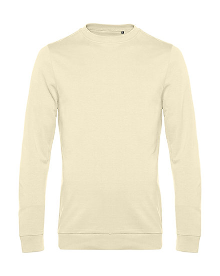 "Sweatshirt French Terry ""pale yellow"" pièce unique"