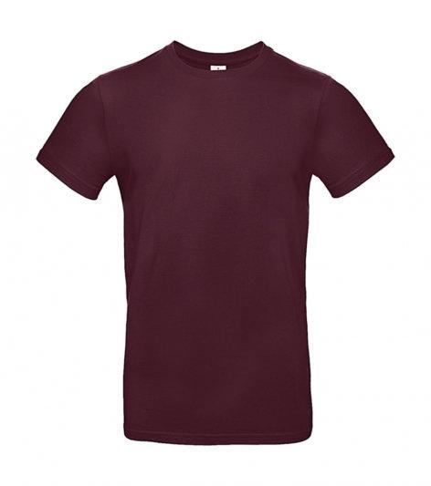 "Tee-shirt premium ""burgundy"" 100 pièces"