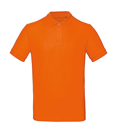 Polo éthique orange pièce unique