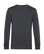 """Sweatshirt éthique French Terry gris """"asphalt"""" pièce unique"""