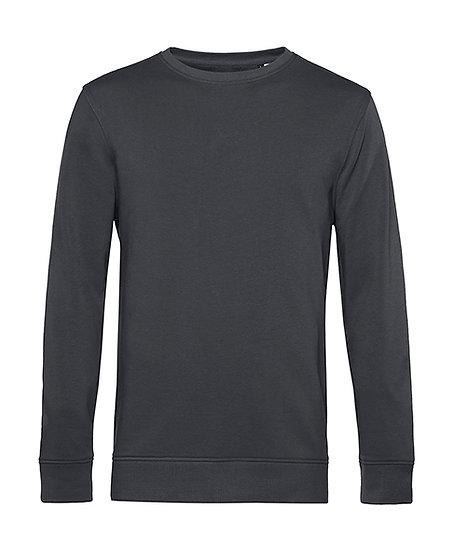 """Sweatshirt éthique French Terry gris """"asphalt"""" 100 pièces"""