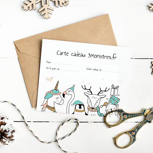 La carte cadeau digitale