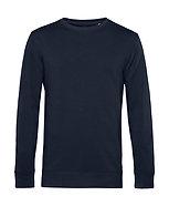 """Sweatshirt éthique French Terry """"navy blue"""" pièce unique"""