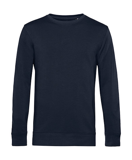 "Sweatshirt éthique French Terry ""navy blue"" pièce unique"
