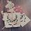 Thumbnail: Pochon cadeau en coton organique brodé Noël