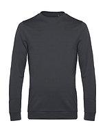 """Sweatshirt French Terry """"asphalt"""" pièce unique"""