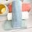 Thumbnail: Drap de bain bouclette de coton biologique brodé prénom