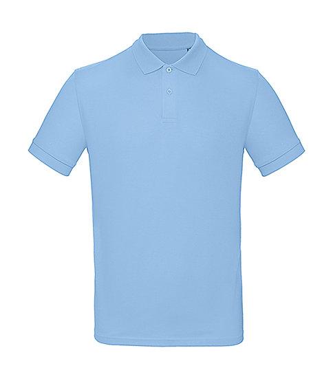"""Polo éthique """"sky blue"""" 10 pièces"""