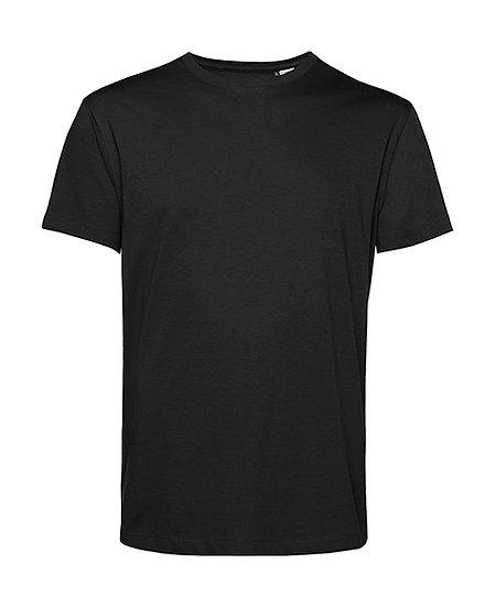 """Tee-shirt éthique """"black pure"""" pièce unique"""