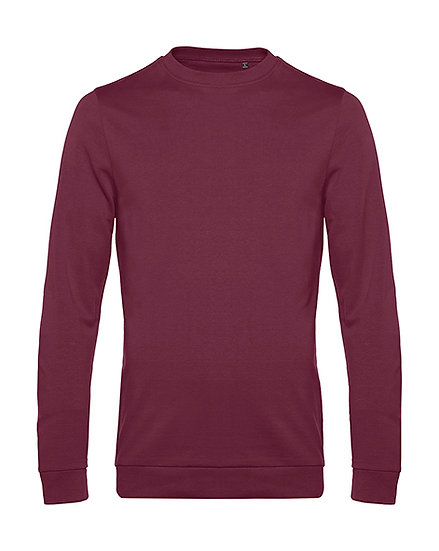 "Sweatshirt French Terry ""wine"" pièce unique"