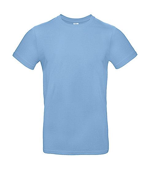 "Tee-shirt premium ""sky blue"" 50 pièces"
