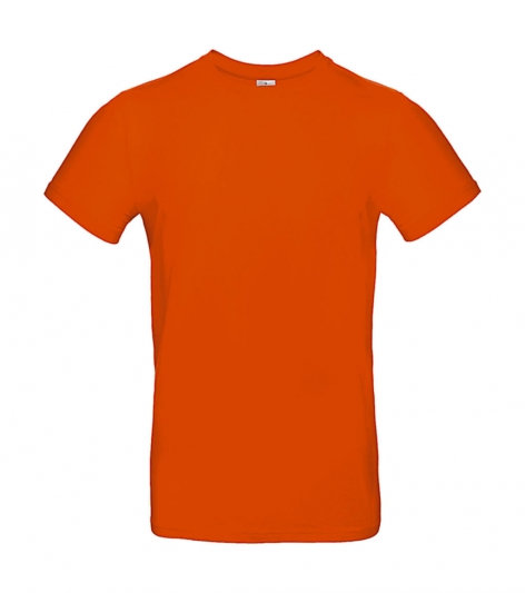 Tee-shirt premium orange pièce unique