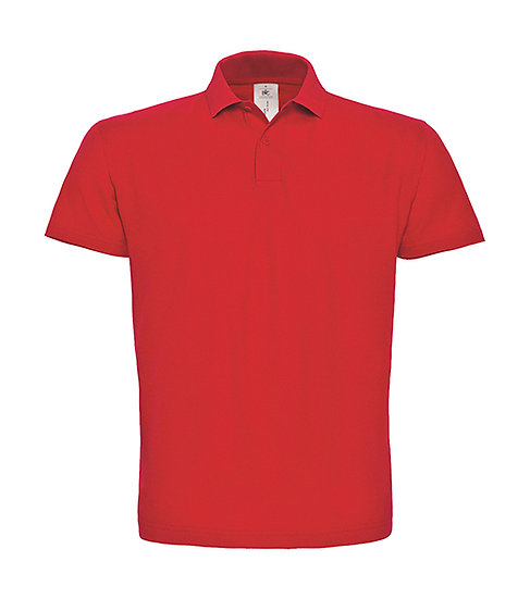 Polo premium rouge pièce unique