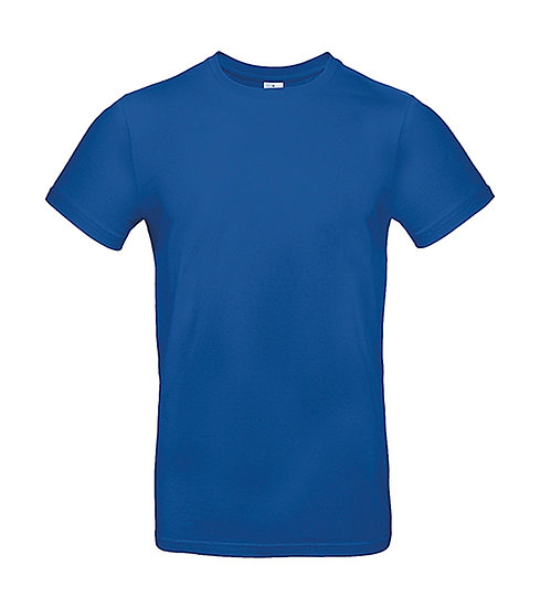 "Tee-shirt premium ""royal blue"" pièce unique"