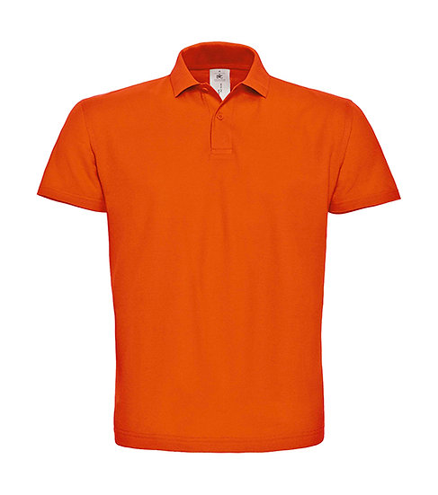 Polo premium orange 10 pièces