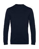 "Sweatshirt French Terry ""navy blue"" pièce unique"