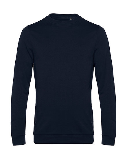 "Sweatshirt French Terry ""navy blue"" 50 pièces"
