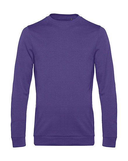 "Sweatshirt French Terry ""radiant purple"" pièce unique"