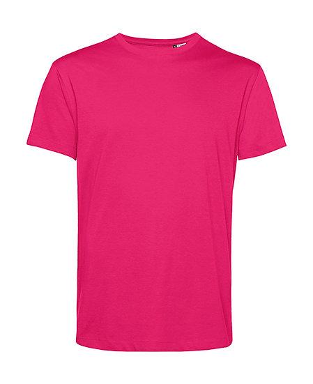 """Tee-shirt éthique """"magenta pink"""" pièce unique"""