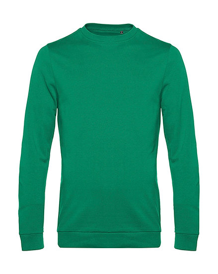 "Sweatshirt French Terry ""kelly green"" 100 pièces"