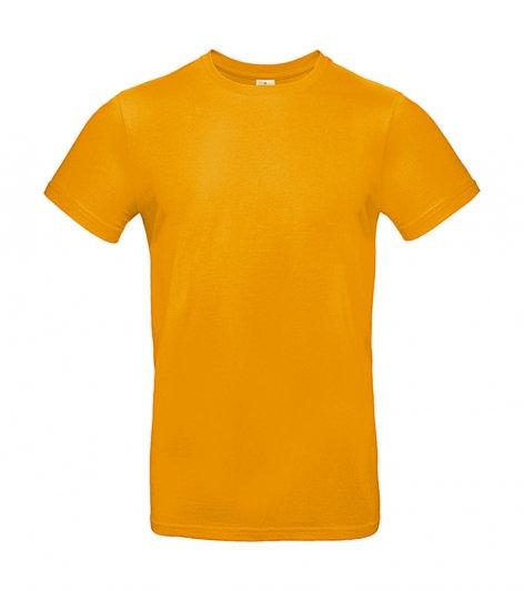 """Tee-shirt premium """"abricot"""" 100 pièces"""