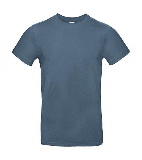 "Tee-shirt premium ""stone blue"" 50 pièces"