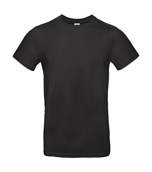 Tee-shirt premium noir 10 pièces