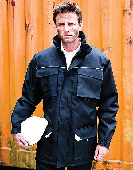 Manteau de travail Sabre Long brodé