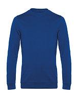 "Sweatshirt French Terry ""royal blue"" pièce unique"